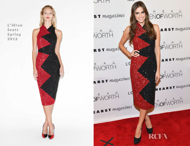 Allison Williams In L'Wren Scott - 7th Annual Women Of Worth Awards