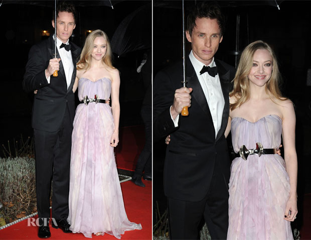 Amanda Seyfried In Alexander McQueen - The Sun Military Awards