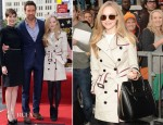 Amanda Seyfried In Burberry London - Hollywood Walk of Fame Unveiling