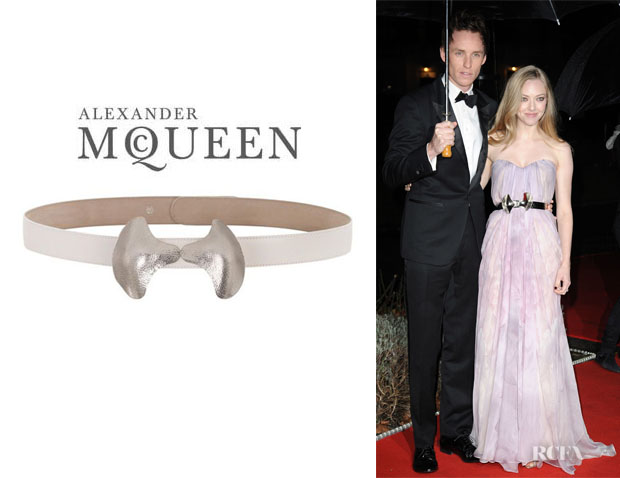 Amanda Seyfried's Alexander McQueen Metal Bow Belt