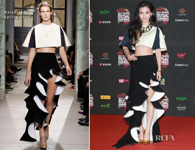 Angelababy In Balenciaga – 202 Mnet Asian Music Awards