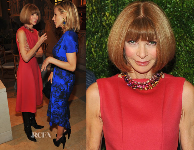 Anna Wintour In Calvin Klein - In Vogue The Editor's Eye Screening