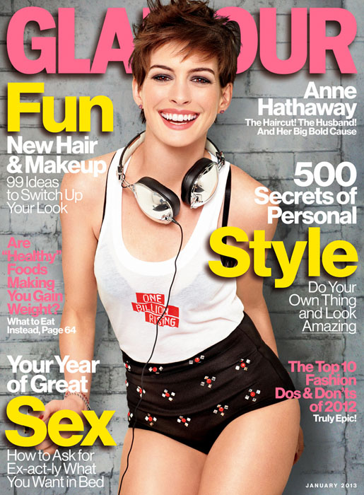 Anne Hathaway Glamour US