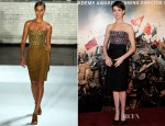 Anne Hathaway In Altuzarra - 'Les Miserables' London Premiere After Party
