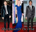 Best Dressed Of The Week - Eddie Redmayne In Burberry Prorsum, Naomi Watts In Roland Mouret & John Krasinski In Calvin Klein