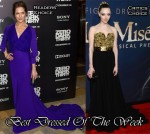 Best Dressed Of The Week - Katie Aselton In Juan Carlos Obando, Amanda Seyfried In Alexander McQueen & Eddie Redmayne In Alexander McQueen