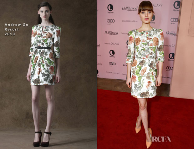 Bella Heathcote In Andrew Gn R13 - Hollywood Reporter's 21st Annual Women In Entertainment Breakfast