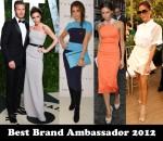 Best Brand Ambassador 2012 - Victoria Beckham