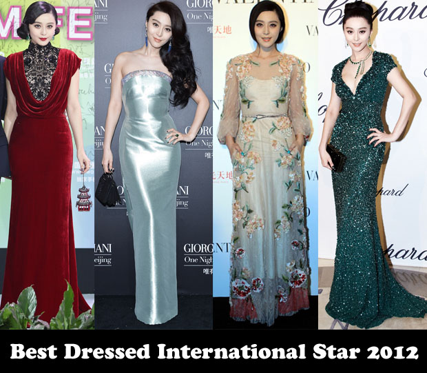 Best Dressed International Star 2012