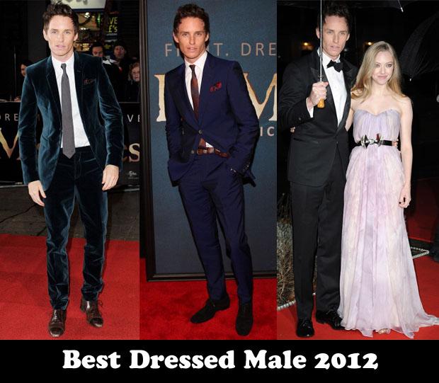 Best Dressed Male 2012 - Eddie Redmayne
