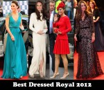 Best Dressed Royal 2012 - Catherine, Duchess of Cambridge