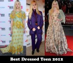 Best Dressed Teen 2012 - Elle Fanning
