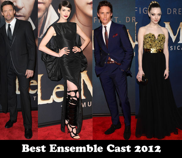 Best Ensemble Cast 2012 - 'Les Miserables'