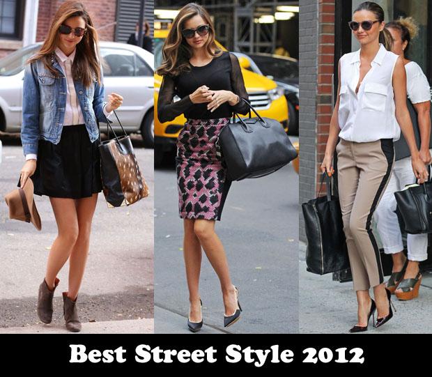 Best Street Style Of 2012 – Miranda Kerr