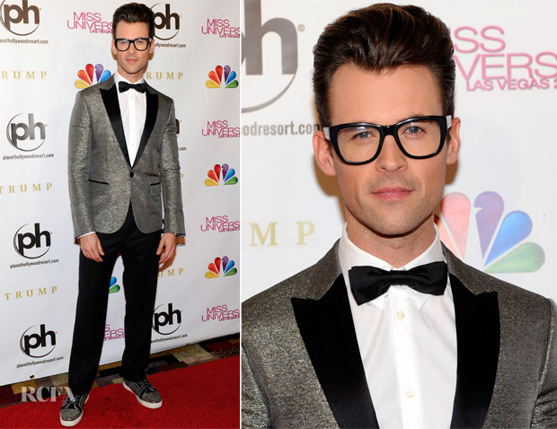 Brad Goreski In DSquared² -  2012 Miss Universe Pageant