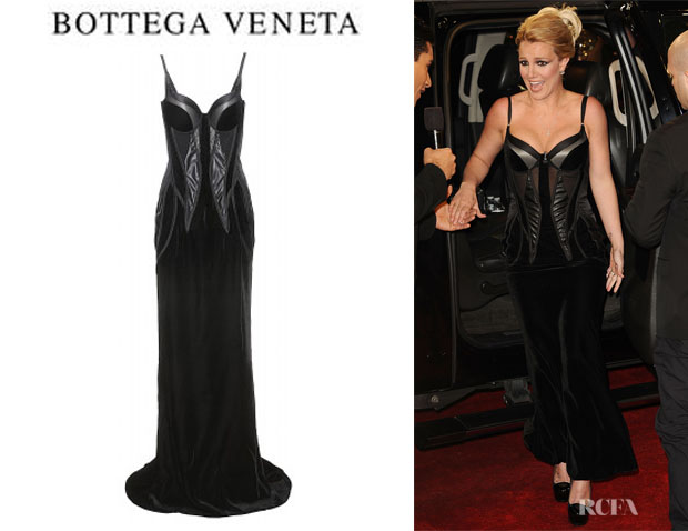 Britney Spears' Bottega Veneta Corset Dress