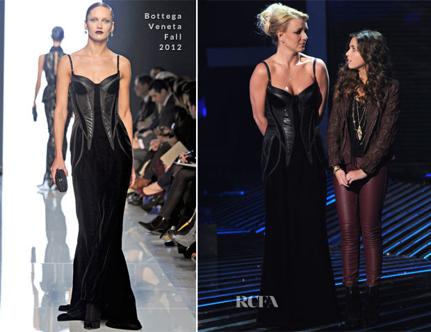 Britney Spears In Bottega Veneta - 'The X Factor' Season Finale