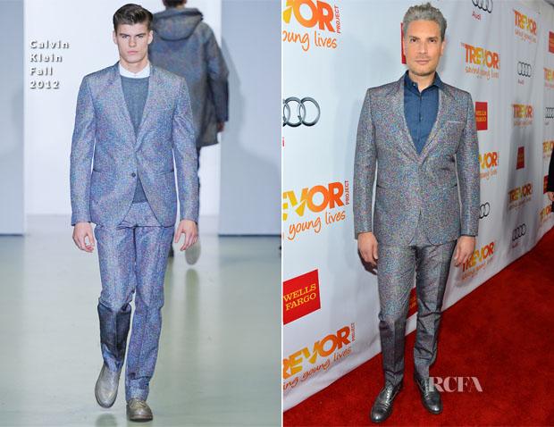 Cameron Silver In Calvin Klein - 'Trevor Live' Event