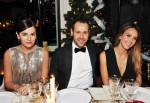 Camilla Belle,  Creative Director of Salvatore Ferragamo, Massimiliano Giornetti and Jessica Alba