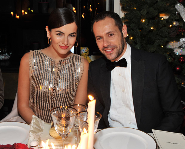 Camilla Belle and Creative Director of Salvatore Ferragamo, Massimiliano Giornetti