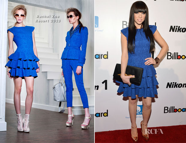 Carly Rae Jepsen In Rachel Zoe – 2012 Billboard Women in Music Luncheon