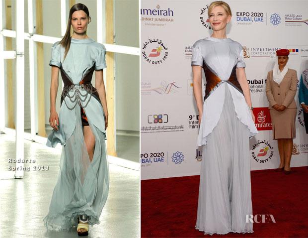 Cate Blanchett In Rodarte - 'Life of PI' Dubai Film Festival Premiere & Opening Ceremony