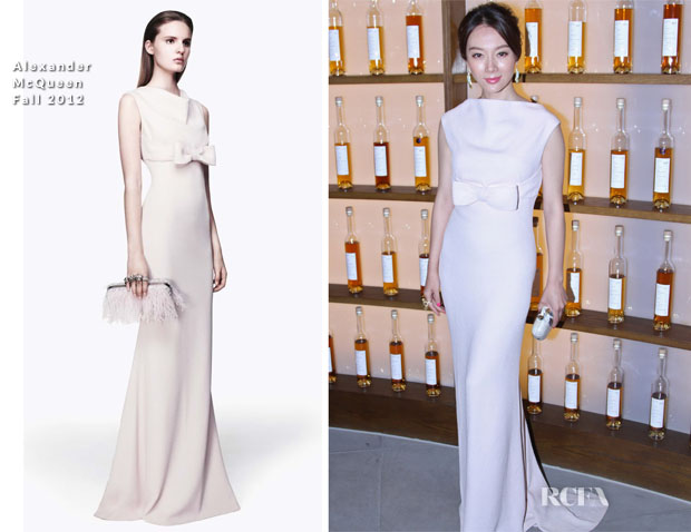 Chen Shu In Alexander McQueen - Johnnie Walker House Beijing