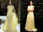 Chen Shu In Georges Hobeika Couture - Bulgari Grand Opening