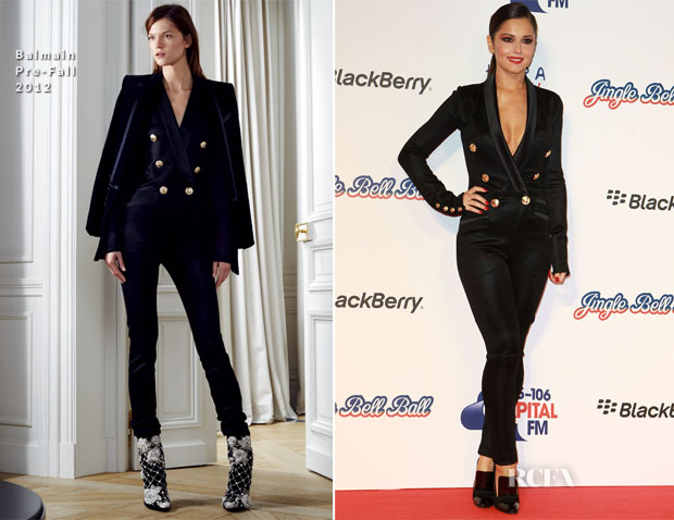 Cheryl Cole In Balmain - Jingle Bell Ball