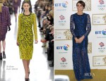 Christine Bleakley In Erdem - British Olympic Ball