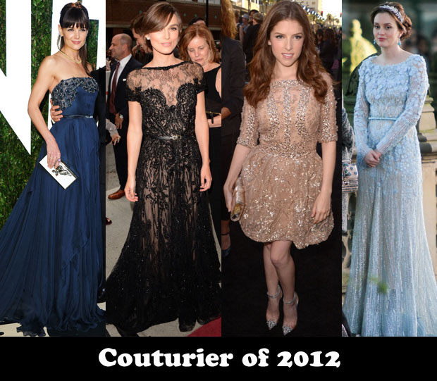 Couturier of 2012
