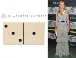 Diane Kruger's Charlotte Olympia Domino Clutch
