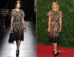 Dianna Agron In Bottega Veneta - 'In Vogue: The Editor's Eye' Screening