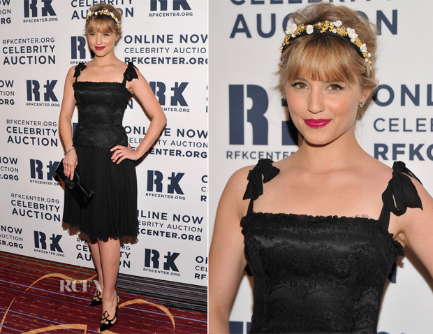 Dianna Agron In Dolce & Gabbana - 2012 Ripple Of Hope Gala