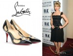 Dianna Agron's Christian Louboutin Indies Pumps