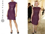 Elizabeth Banks' Trina Turk Tweed Dress