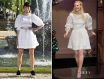 Elle Fanning In Chanel - The Tonight Show with Jay Leno