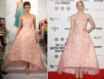 Elle Fanning In Oscar de la Renta - British Independent Film Awards 2012