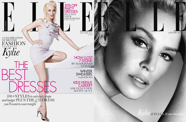 Elle UK Kylie Minogue