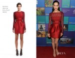 Emmy Rossum In Zuhair Murad - All-Access Microsoft Holiday Party