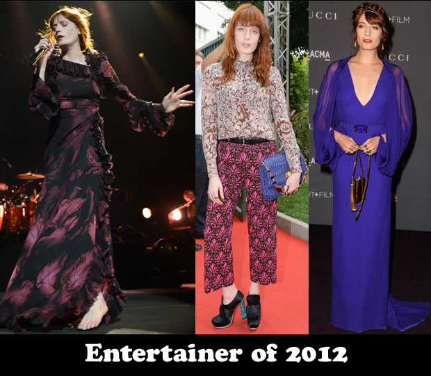 Entertainer of 2011 – Florence Welch