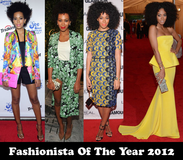 Fashionista Of The Year 2012