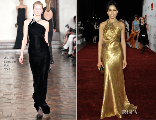 Freida Pinto In Ralph Lauren