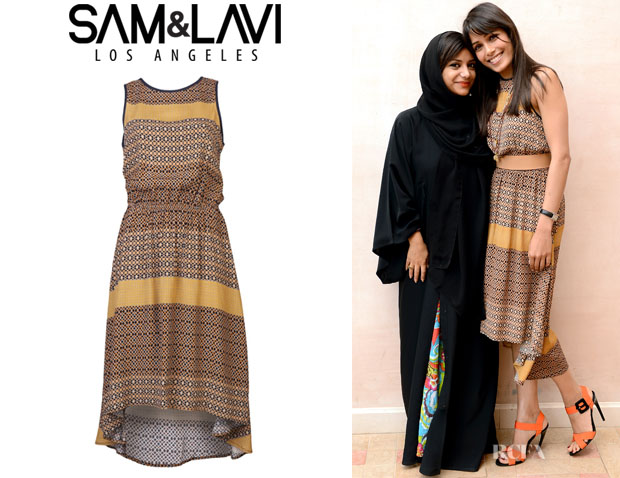 Freida Pinto's Sam & Lavi Gladis Dress