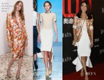 Gao Yuanyuan In Stella McCartney & Masha Ma - Grazia's 100th Issue Celebration