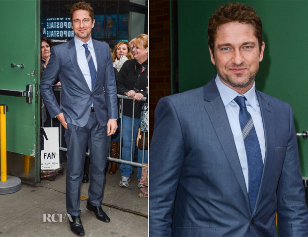 Gerard Butler In Calvin Klein - Good Morning America