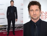 Gerard Butler In Dolce & Gabbana - 'Playing for Keeps' New York Premiere