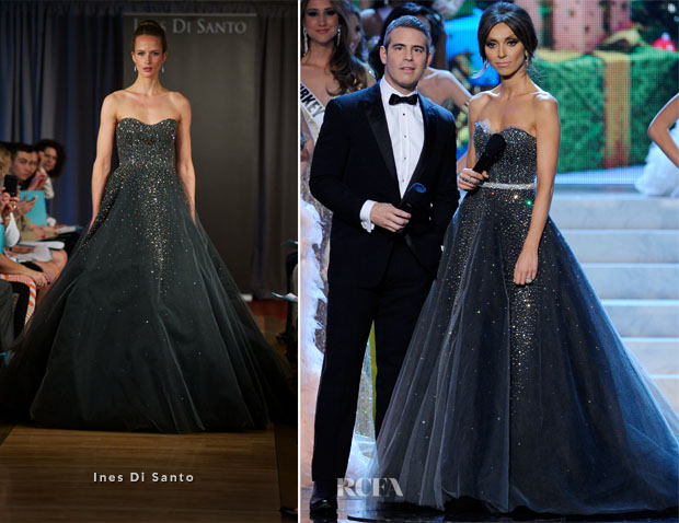 Giuliana Rancic In Ines Di Santo - 2012 Miss Universe Pageant
