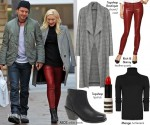 Steal Her Style: Gwen Stefani's Christmas Shopping Look