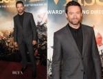 Hugh Jackman In Lanvin - 'Les Miserables' London Premiere